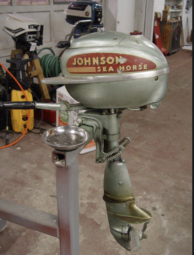 ... in outboard motor design pushed above all by Johnson and Evinrude transformed low cost coastal mobility. Not exactly shock of the old but a history for ...