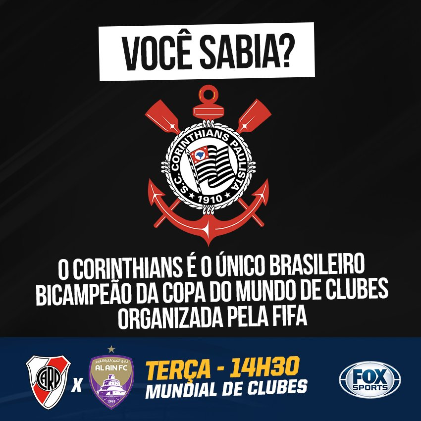 🖤⚪🏆 O ÚNICO!   #MundialDeClubesFOXSports