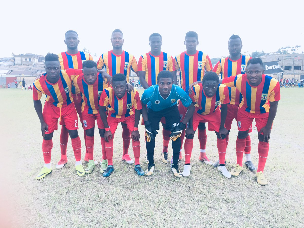Hearts of Oak thrash Tudu Mighty in friendly