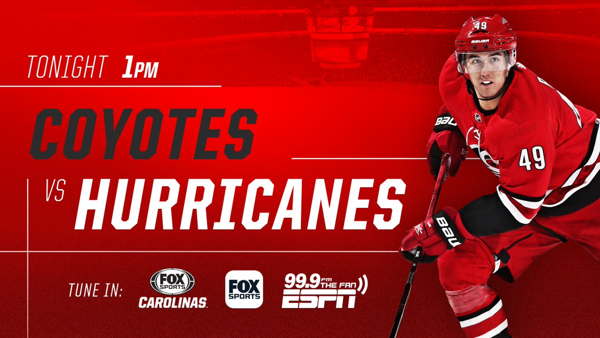 Gdt Game 32 Hurricanes Vs Coyotes Hfboards Nhl Message Board