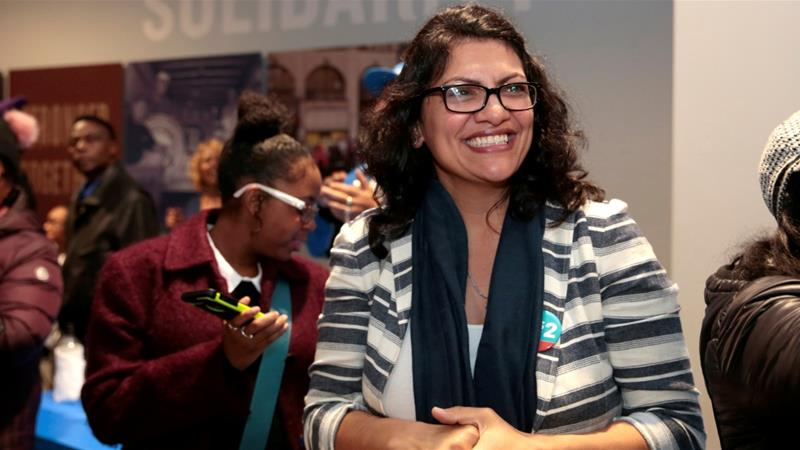 Rashida Tlaib, the first Palestinian-American woman to serve in US Congress, will wear traditional Palestinian dress, a thobe, for the official swearing-in ceremony aje.io/7gzc6