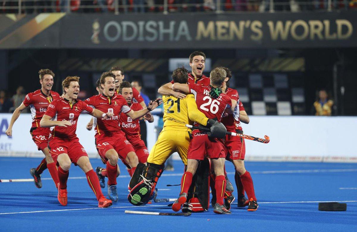 #HWC2018 | Belgium beat Netherlands in sudden death to win maiden Hockey World Cup title  https://t.co/9kbiFlUF7a