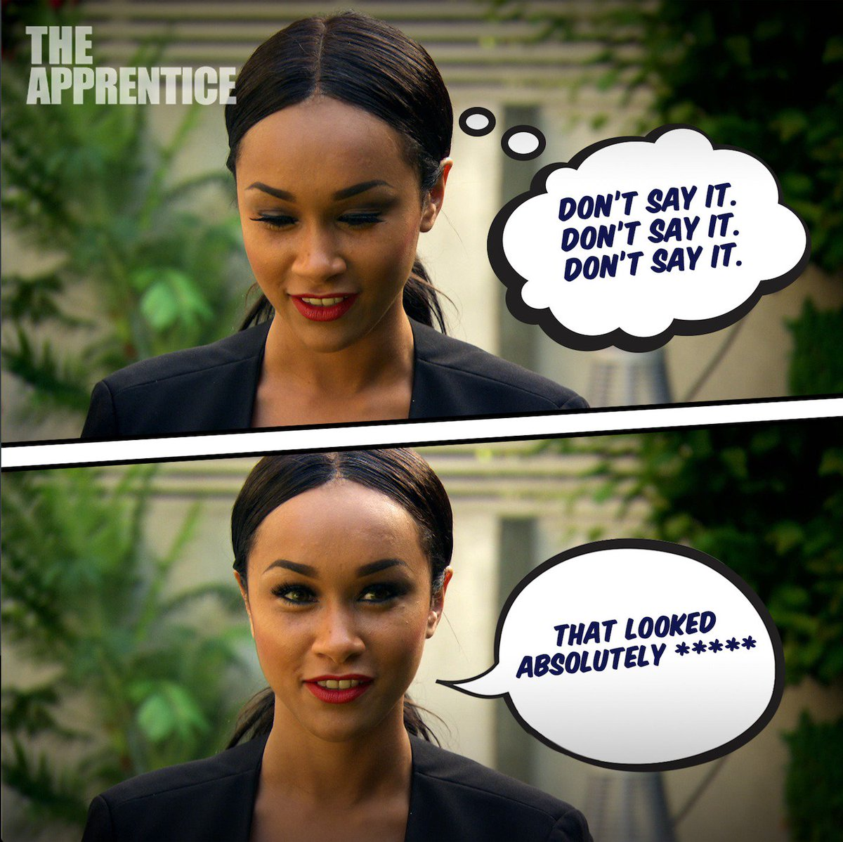 Wow. Dont go holding back there, Sian... 🙉🙉😲 #TheApprentice