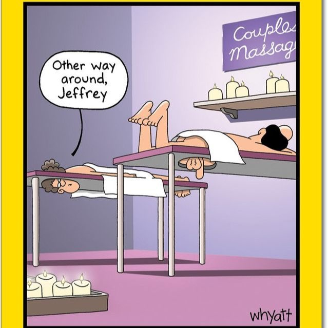 Анекдоты про массажистов в картинках