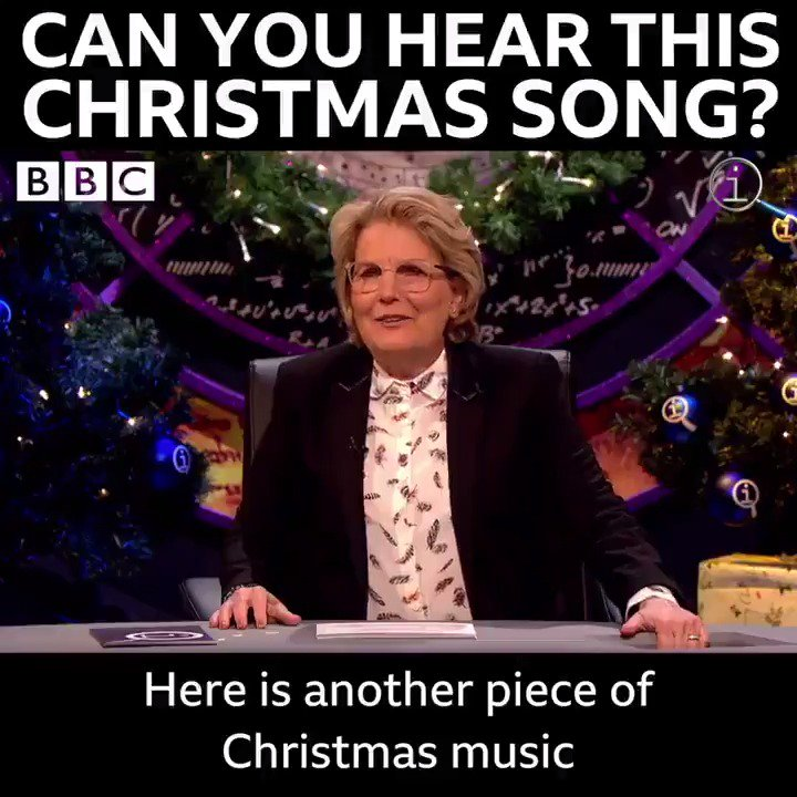 This is SO WEIRD! 😲🎄🎶 #QI | Streaming now on @BBCiPlayer.