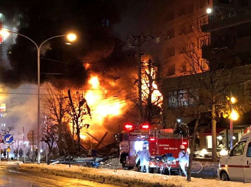 More than 40 injured in explosion in Japan's Sapporo: Kyodo https://t.co/fzFmJ5Hsgh