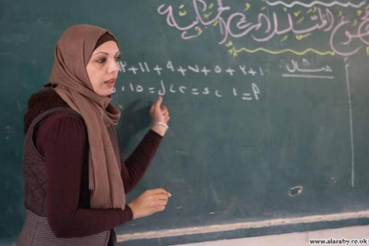 """The #Palestinian Ministry of Education announced on Friday that Rana Ziadeh, a teacher from Gaza, has been nominated as one of 50 finalists for the """"world's best teacher prize"""". buff.ly/2PG8s5b"""
