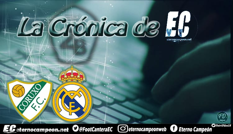 Crónica   Coruxo 2-1 Real Madrid Castilla http://eternocampeon.net/cronica-coruxo-2-1-real-madrid-castilla… Por: @_albacg Diseño: @PatriFdez18 #TodosConElCastilla #SegundaB #HalaMadrid