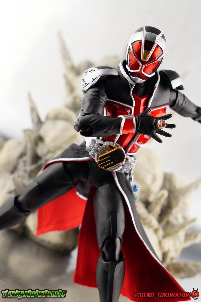FROM JAPAN S.H.Figuarts Kamen Rider Wizard Phoenix Phantom Action Figure Ba...