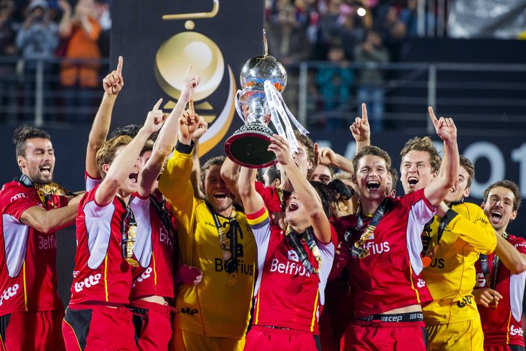 WORLDCHAMPIONS! I admire the determination with which the Red Lions hockey team won this title, for the first time in Belgian history! Congratulations! #GoBelgium <br>http://pic.twitter.com/B5UjVmXxiB