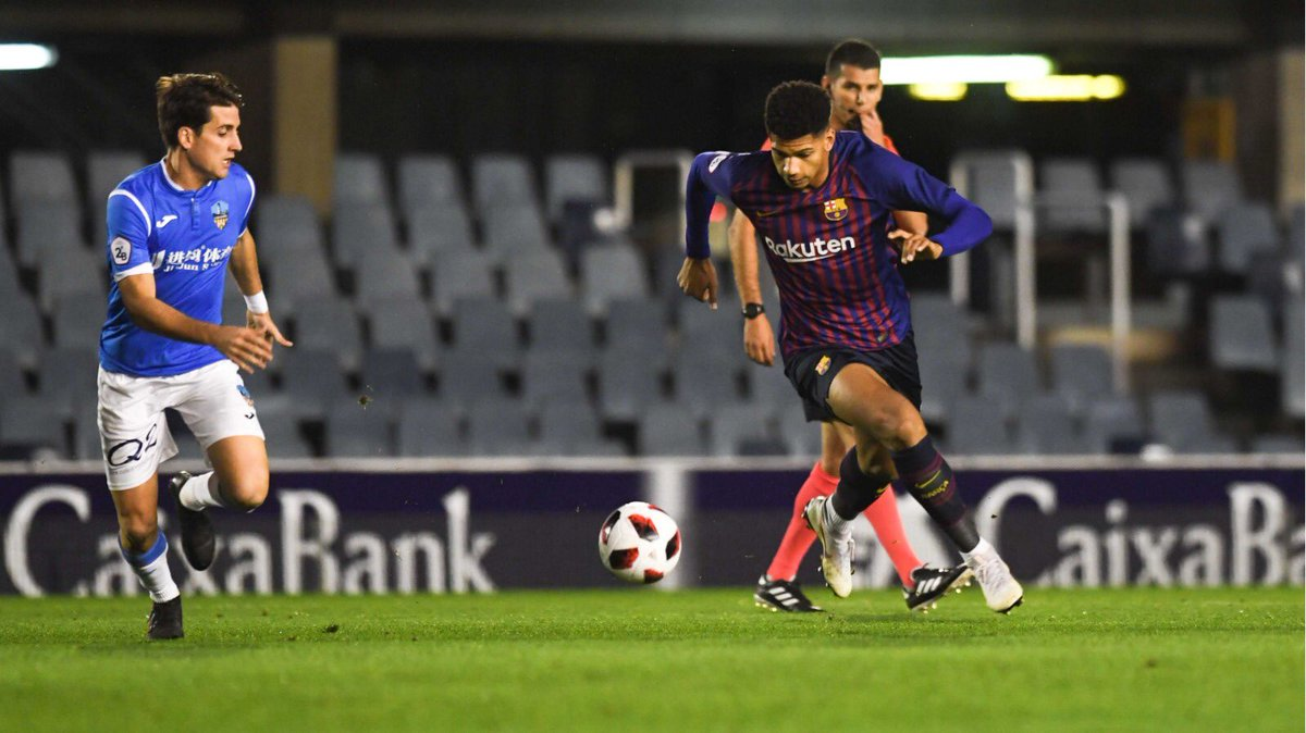 🔵🔴👍 El Barça B és cinquè després de disputar-se la dissetena jornada / El Barça B es quinto tras disputarse la jornada 17:  1️⃣ Lleida, 33 p 2️⃣ Vila-real B, 32 3️⃣ At. Baleares, 31 4️⃣ Hèrcules, 31 5️⃣ BARÇA B, 27  #BarçaB #ForçaBarça🔵🔴