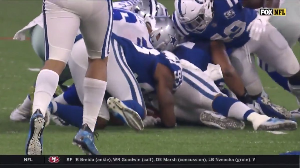 """""""Clear fumble recovery"""" vs """"Not a clear fumble recovery"""""""
