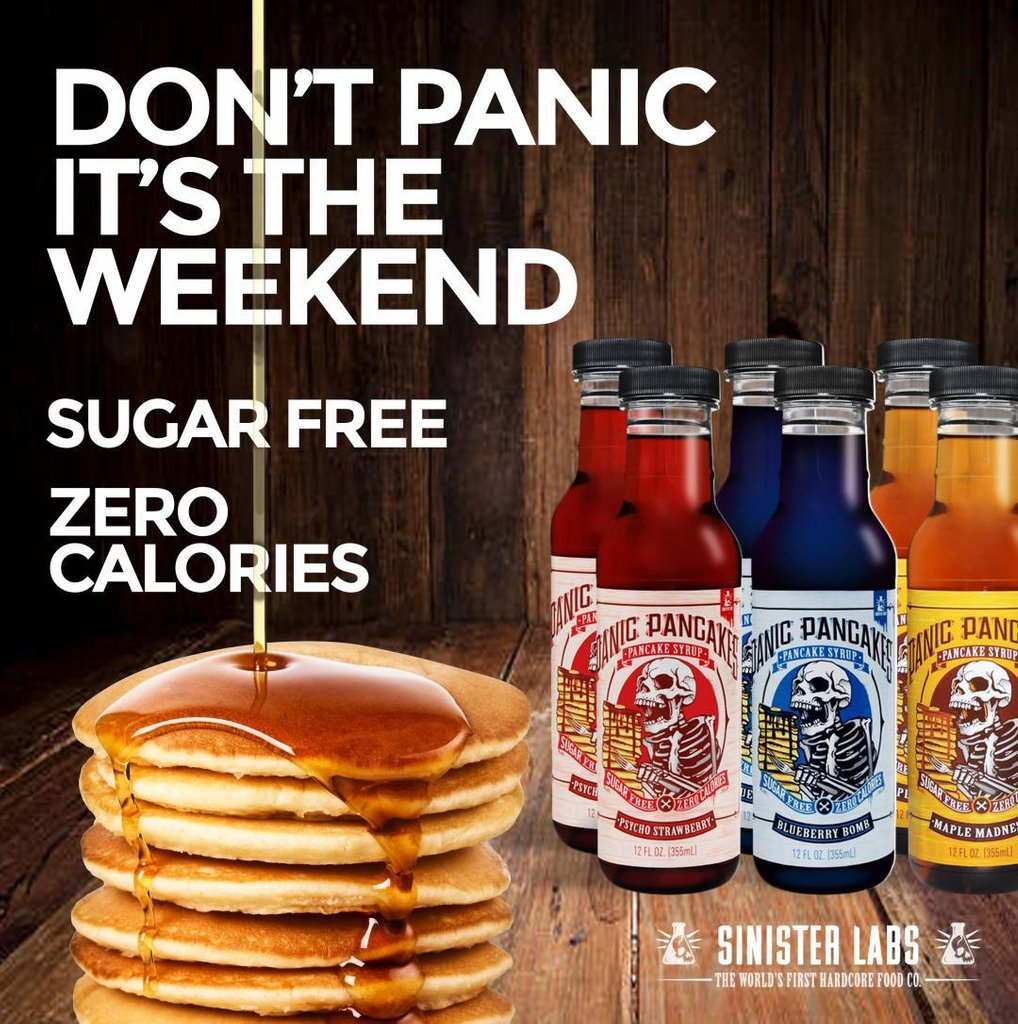 Image result for sinister labs pancake syrup