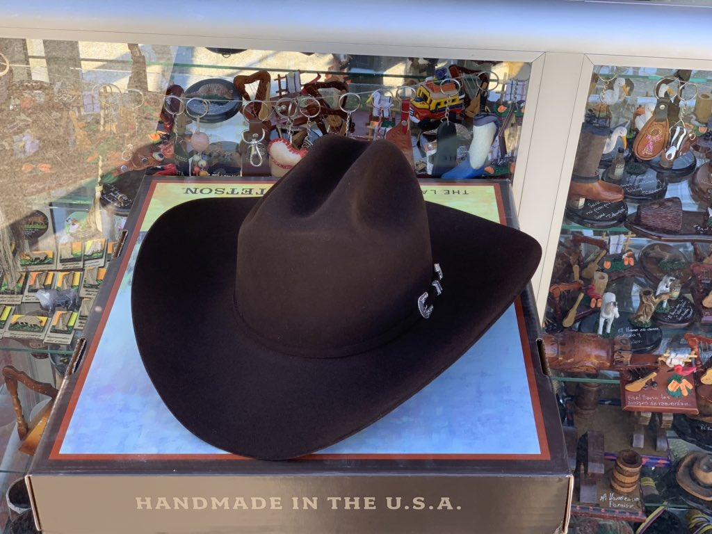 mejor online talla 40 mayor selección de 2019 Stetson americano 20X #Sombrero #hats #sombrerollanero ...