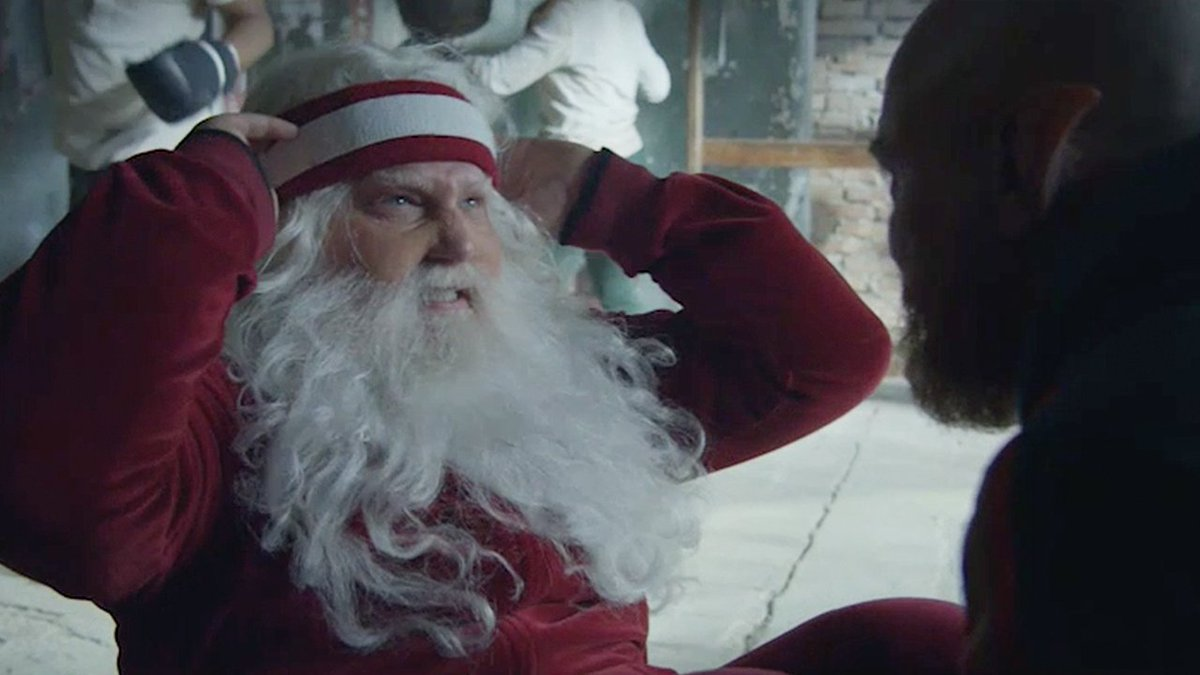 All we want for Christmas is more footage of Santa working out. Wish fulfilled. http://audi.us/NewSanta #NewSanta