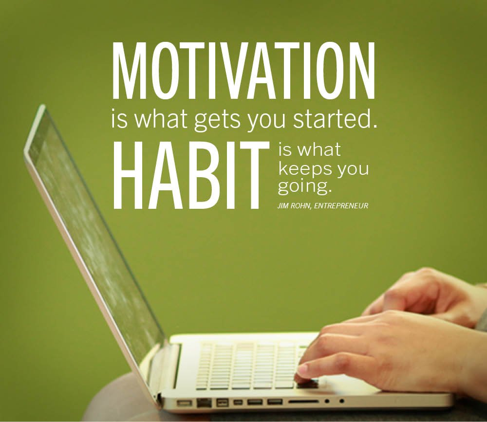 Ed4online On Twitter The Difference Between Motivation And Habit