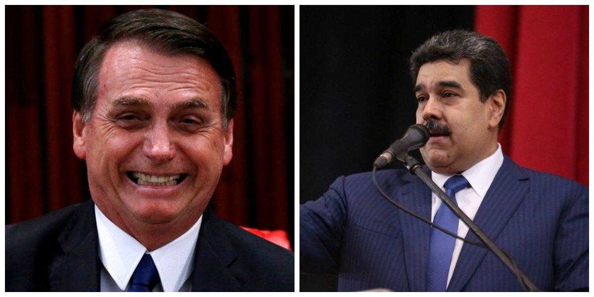 En #México sí, pero en #Brasil NO  Maduro 'no fue invitado' para la investidura de Bolsonaro https://t.co/mZPKAKBomq