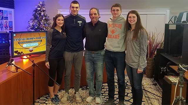 Mynderse & Waterloo student-athletes in-studio .::. Upstate Hoops Podcast 12/16/18