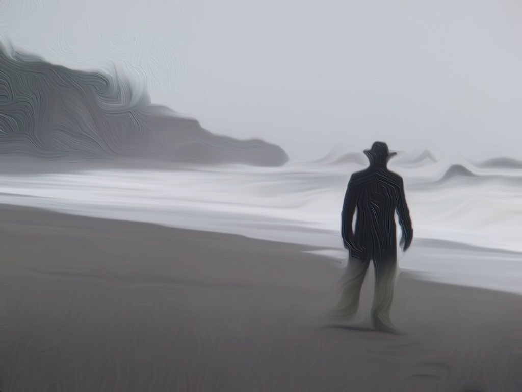 I gotta stop doin' shrooms on the beach!