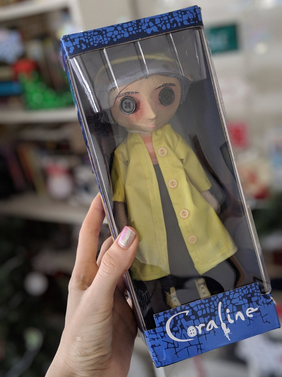 Negaoryx On Twitter I Found This Coraline Doll At Target There Was No Price Tag No Sticker On The Shelf When We Scanned The Barcode It Showed 5 In Stock