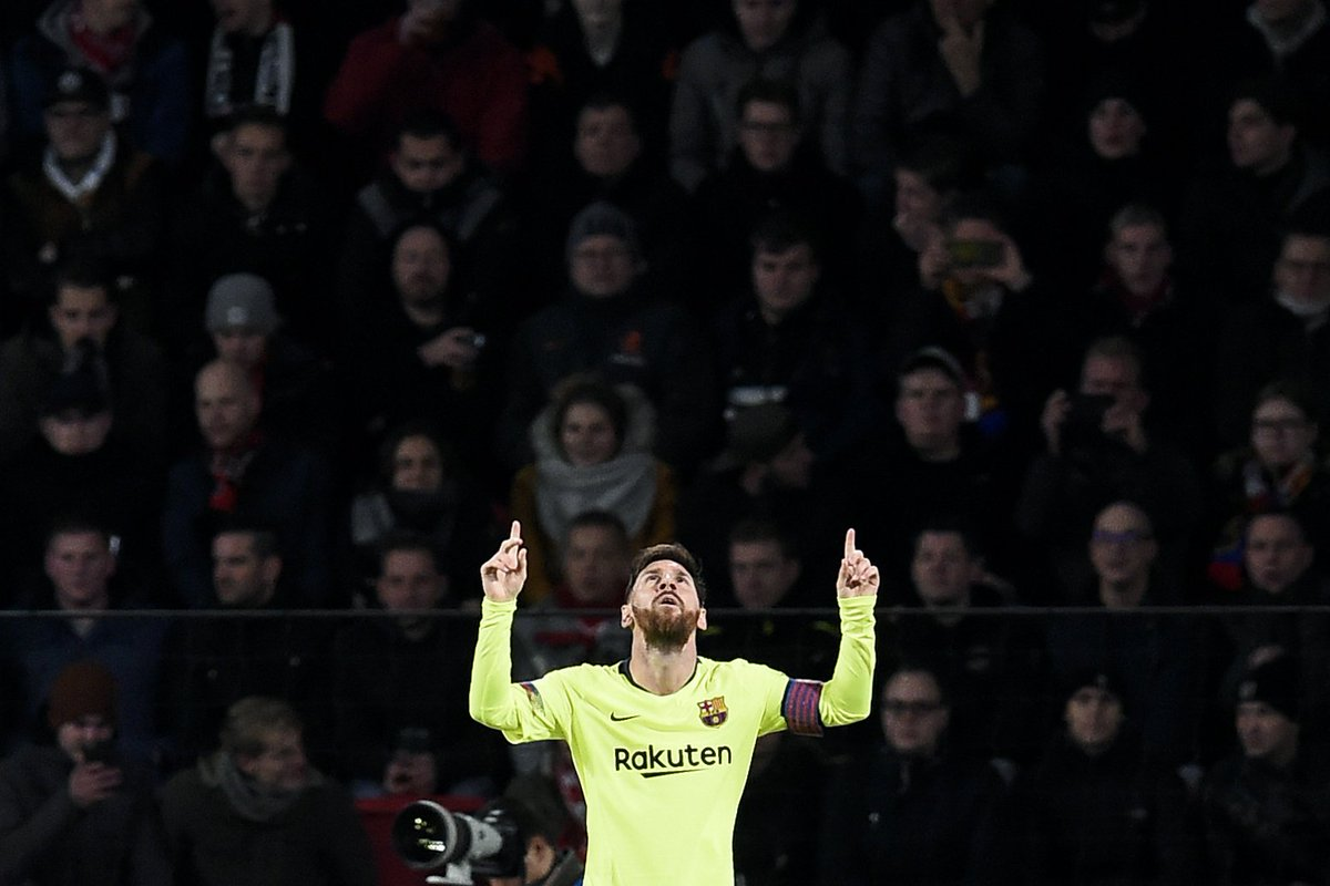 Lionel Messi is the first player in Europe's top five leagues to be directly involved in 20+ league goals this season.  ⚽️ 12 goals 🅰️ 9 assists  Just as we tweeted. 🙃