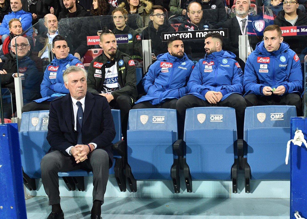 📸 Gli scatti del match ⚽️ #CagliariNapoli 0-1 🇮🇹 @SerieA 💙#ForzaNapoliSempre