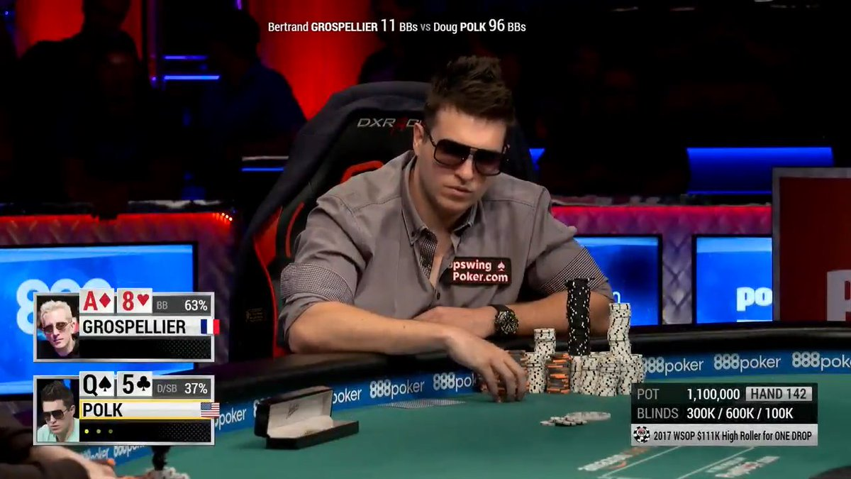 Relive @DougPolkPoker's 2017 High Roller for @OneDrop bracelet win and then wish him a Happy Birthday!  ▶️ http://bit.ly/2GH3Mb6