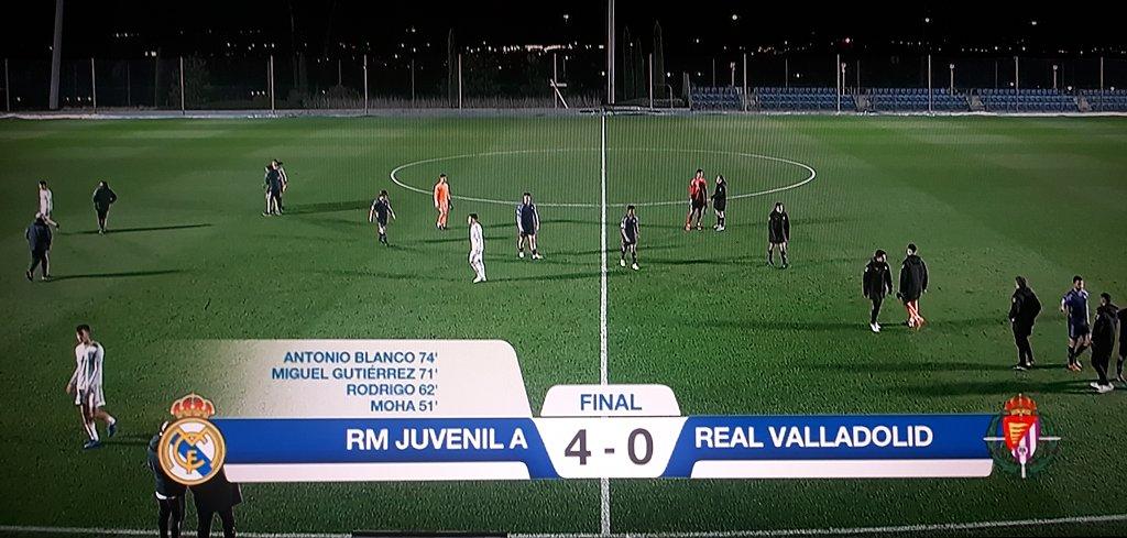 Crónica   Real Madrid Juvenil A 4-0 Valladolid http://eternocampeon.net/cronica-real-madrid-juvenil-a-4-0-valladolid… Por: @JavierGomezT #DivisióndeHonor #LaFábrica #HalaMadrid