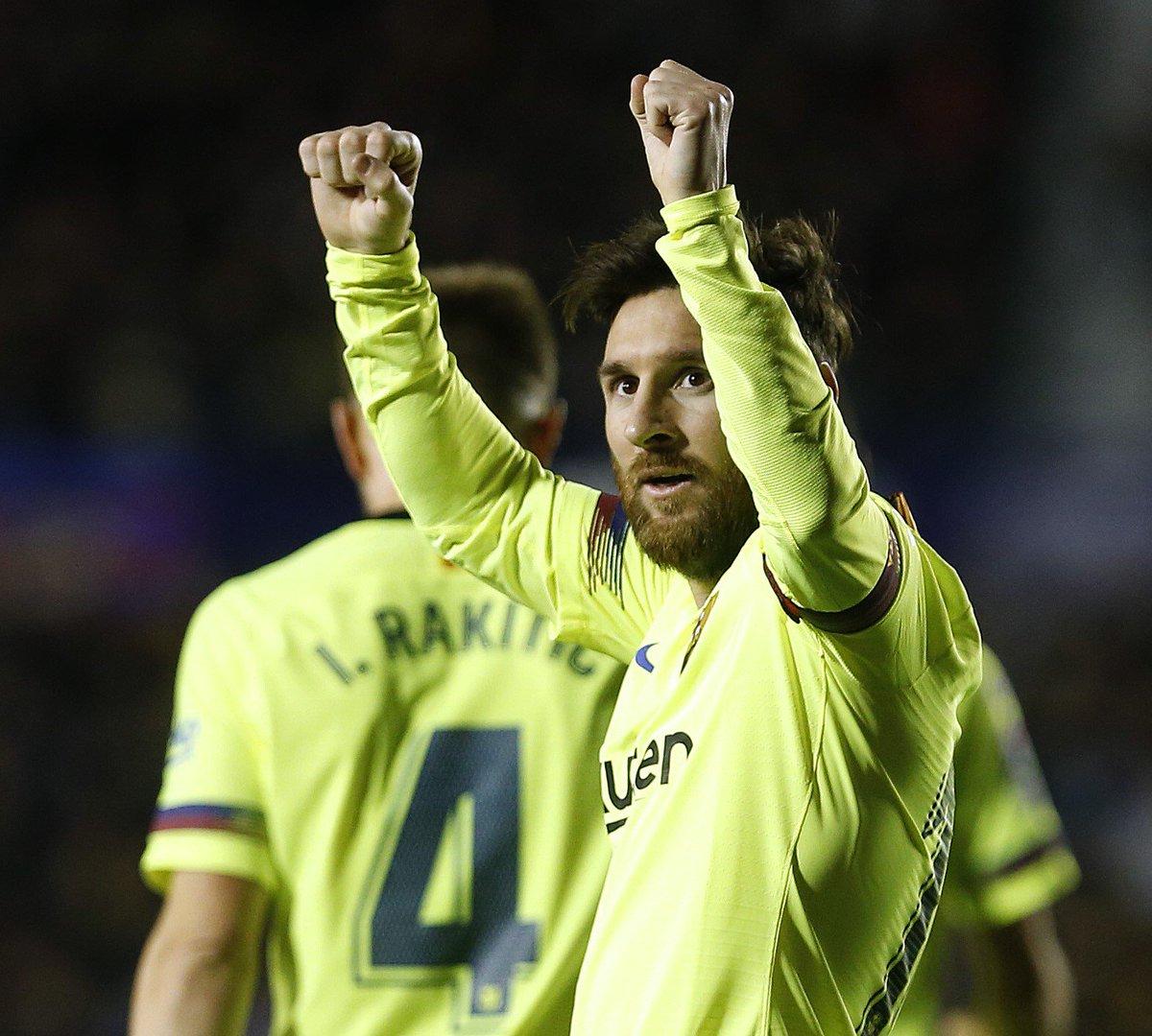 LaLiga's photo on Lionel Messi
