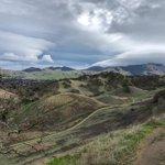 Image for the Tweet beginning: #Lenticular #clouds over Mount Diablo.