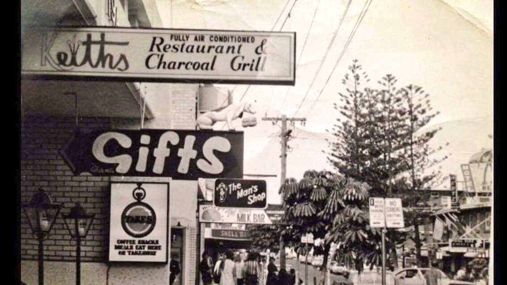 Old Shops Australia On Twitter Cavill Ave Surfers Paradise Gold Coast 1970 Pic Credit Tim Warren