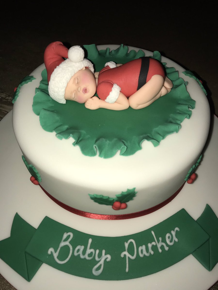 Terrytangcakes What An Absolutely Amazing Fabulous Cake For My Christmas Baby Shower The Work Detail To Is Outstanding Thank You So Much A