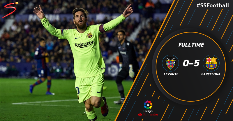 SuperSport's photo on Lionel Messi