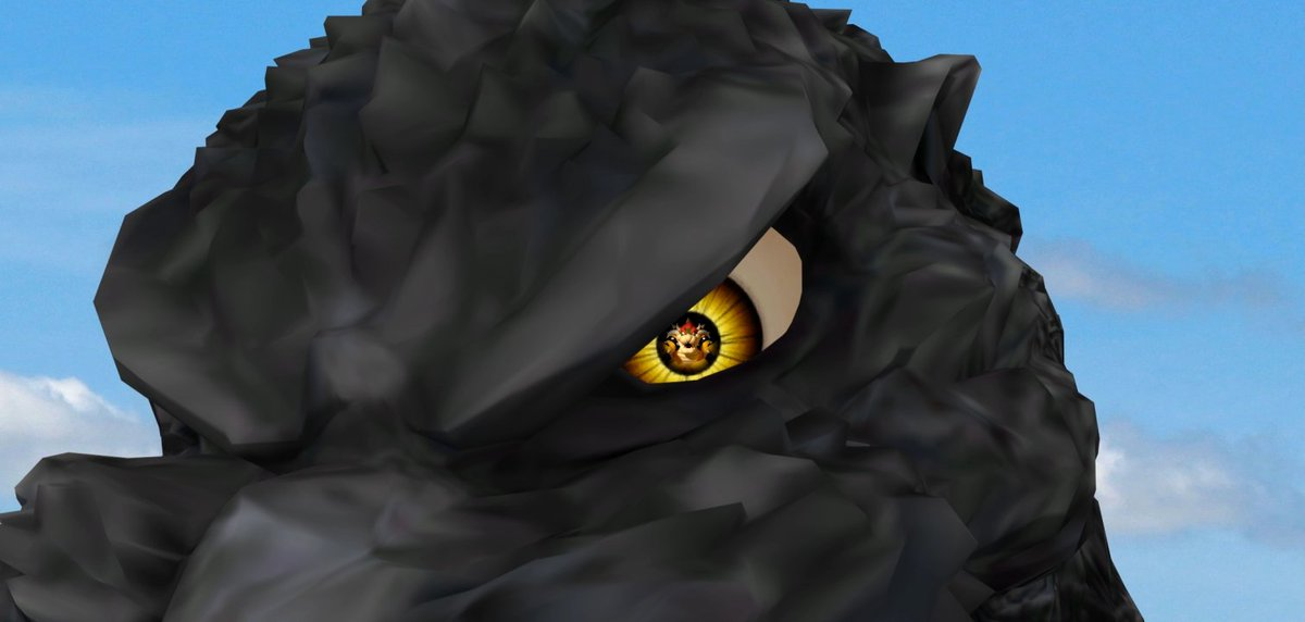Godzilla Vs Bowser