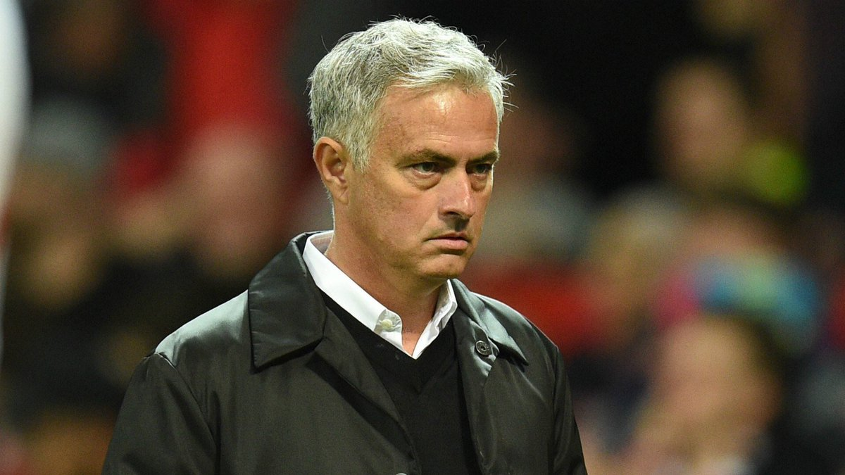 BREAKING NEWS: Manchester United manager, José Mourinho, has been sacked with immediate effect.