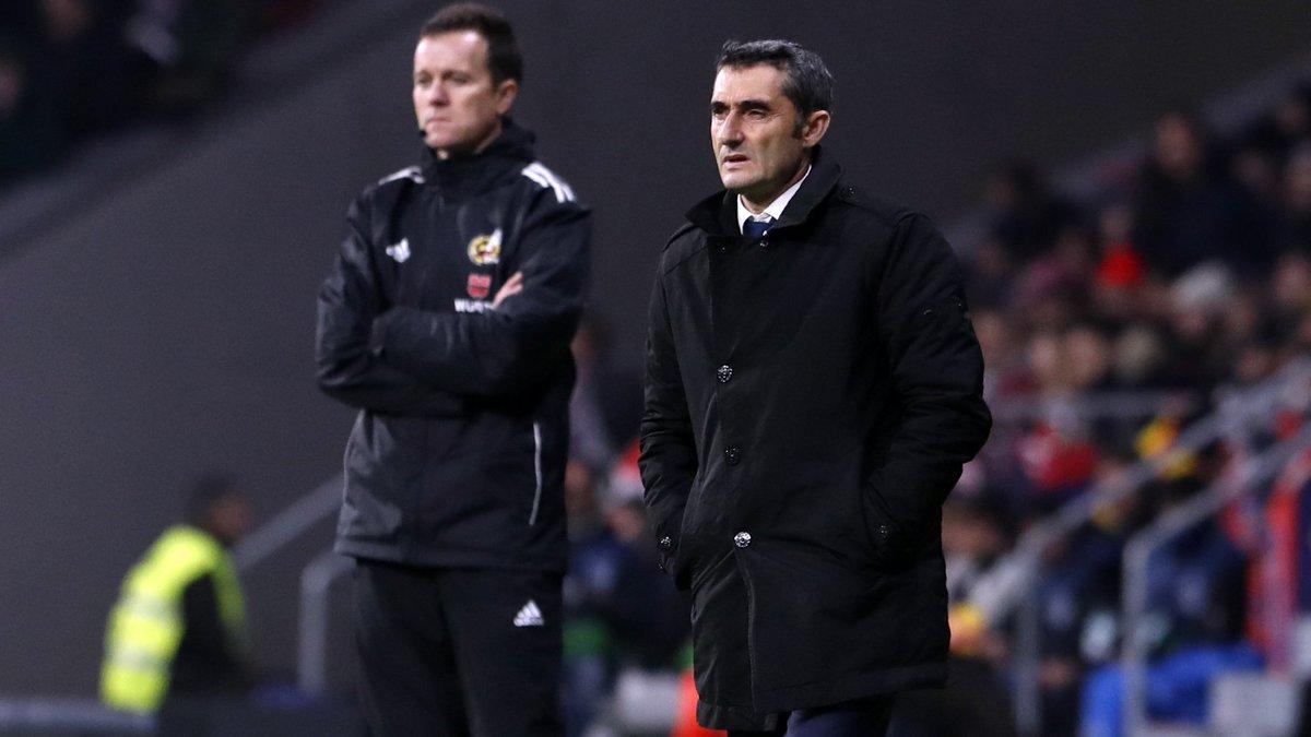 🗣 És moment d'escoltar el nostre entrenador després de la victòria davant el #LevanteBarça 💪 📺 Segueix EN DIRECTE la roda de premsa de Valverde 👇👇👇 http://ow.ly/4W3V30n0tym
