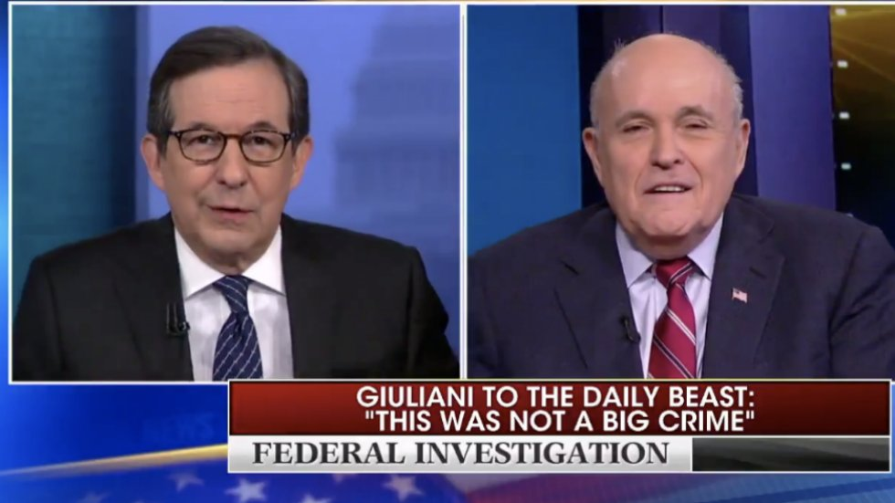 Chris Wallace gets in heated exchange with Giuliani: 'I'm asking you for the truth, sir' https://t.co/r3oF9ZV2i9