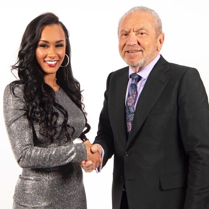 I DID IT... & what an absolute rollercoaster it's been, overwhelmed and still can't believe it - I'm ready and excited to start the http://sianmarie.com journey with @Lord_Sugar thankyou for ALL of your support throughout ❤️❤️