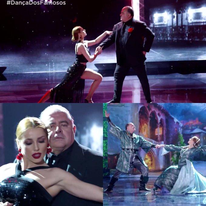É CAMPEÃO! @LeoJaime é o grande vencedor da #DançaDosFamosos2018. O astro levou a melhor na grande final de hoje (16), ao lado de sua professora Larissa Parison, com os ritmos tango e valsa. Parabéns!!! 👏🏿👏🏿👏🏿 (📸 Reprodução/TV Globo) #DançaDosFamosos Foto