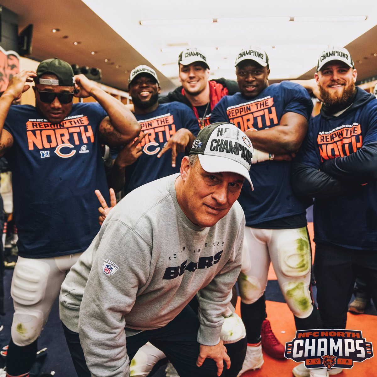 When's the album droppin', Vic? #DaBears | #NFCNorthChamps