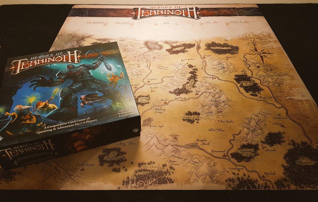 Gamemat Heroes of Terrinoth