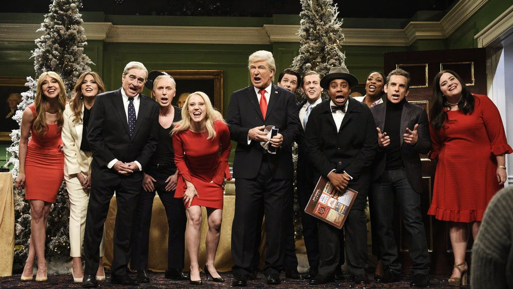 #SNL imagined a world in which Trump never became president for its final episode of 2018 https://t.co/DuhBT3rvGl