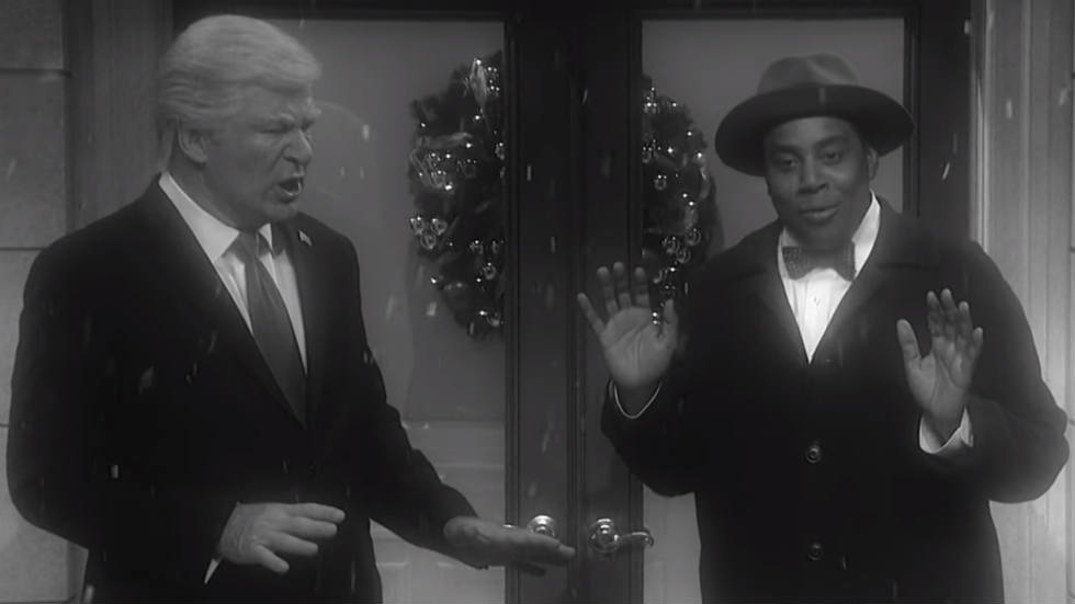 WATCH: SNL's 'It's a Wonderful Life' parody imagines the world if Trump was never elected https://t.co/7xdSajn4gz