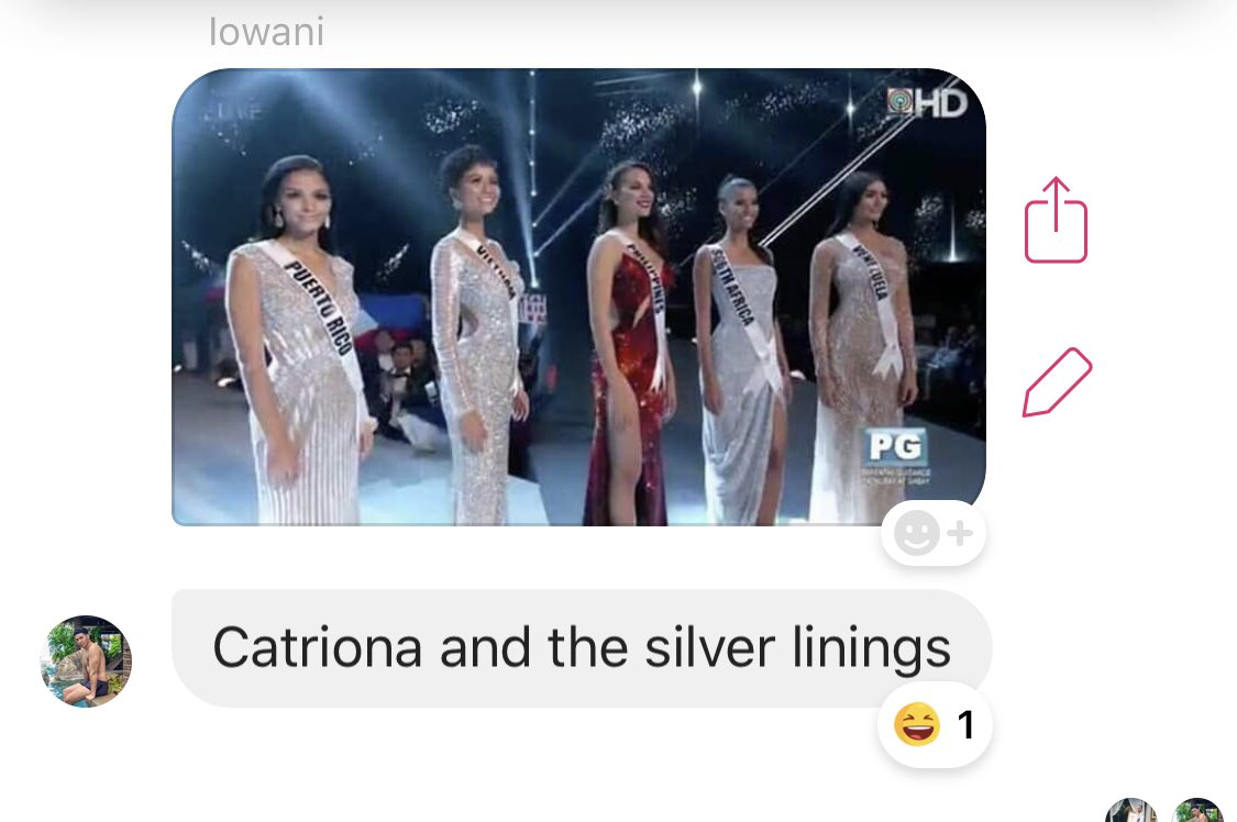 Catriona and the silver linings