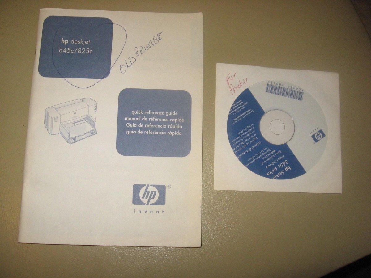 Hp 825c Manual