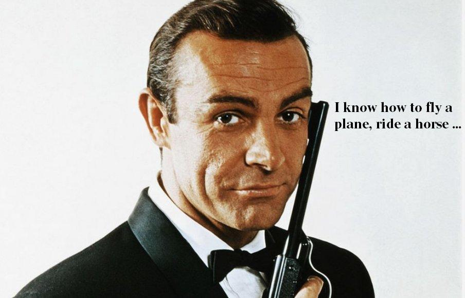 James Jeffrey's photo on James Bond