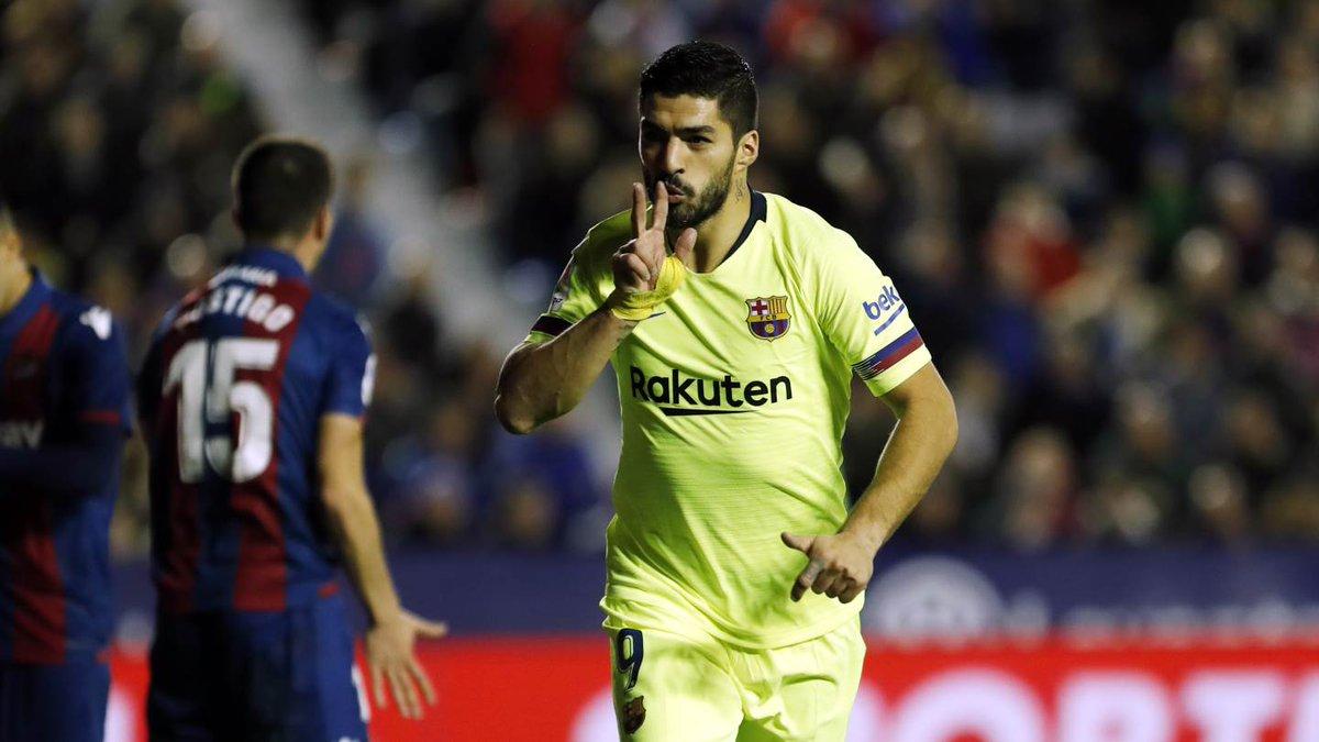 🖐💥أجمل هدف في خماسية #ليفانتي_برشلونة؟🤔 ⚽⚽⚽⚽⚽