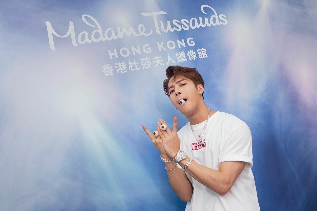 Image result for jackson wang madame tussauds