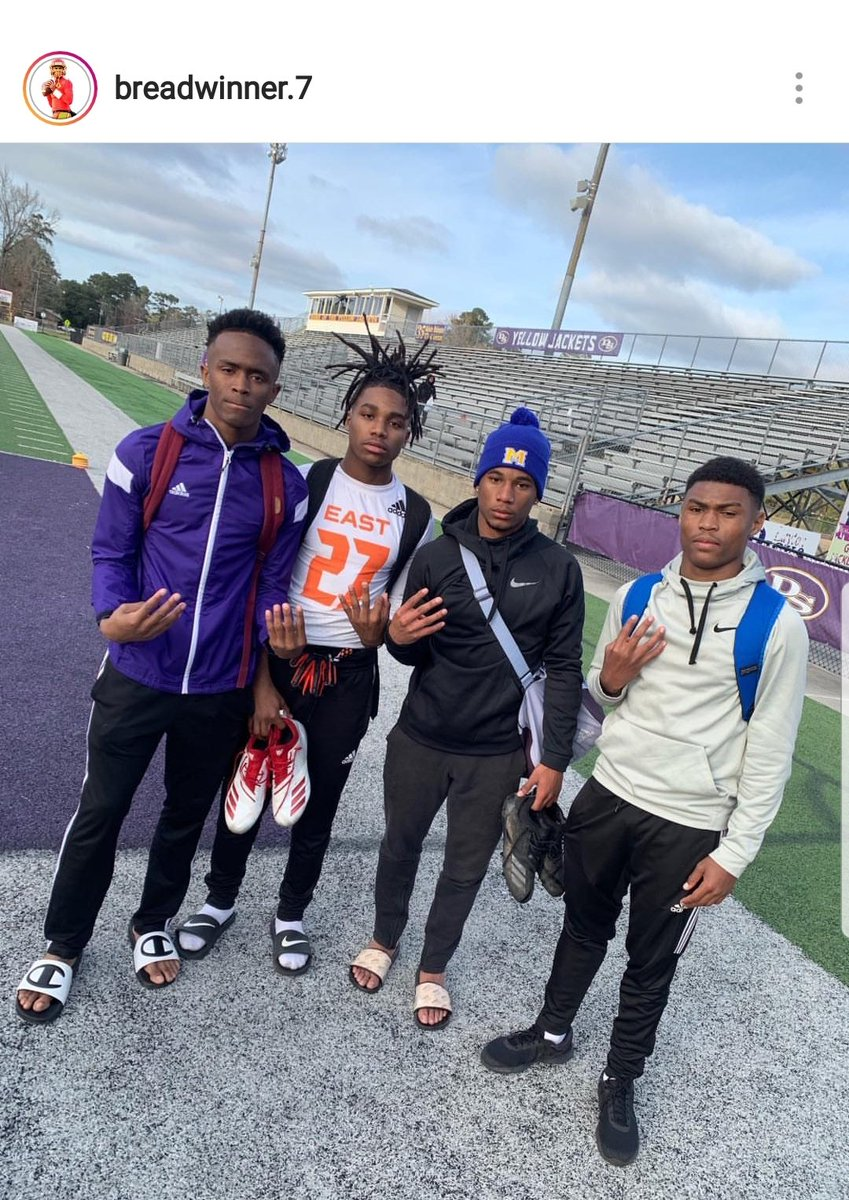 Remember these 4 young men! A quarterback and his receivers! 1st Team All-District WR, 1st Team All-District KR, Honorable Mention WR, and 1st Team All-District QB. Oh yea they're sophomores! #lccpfootball #agnb #unfinishedbusiness