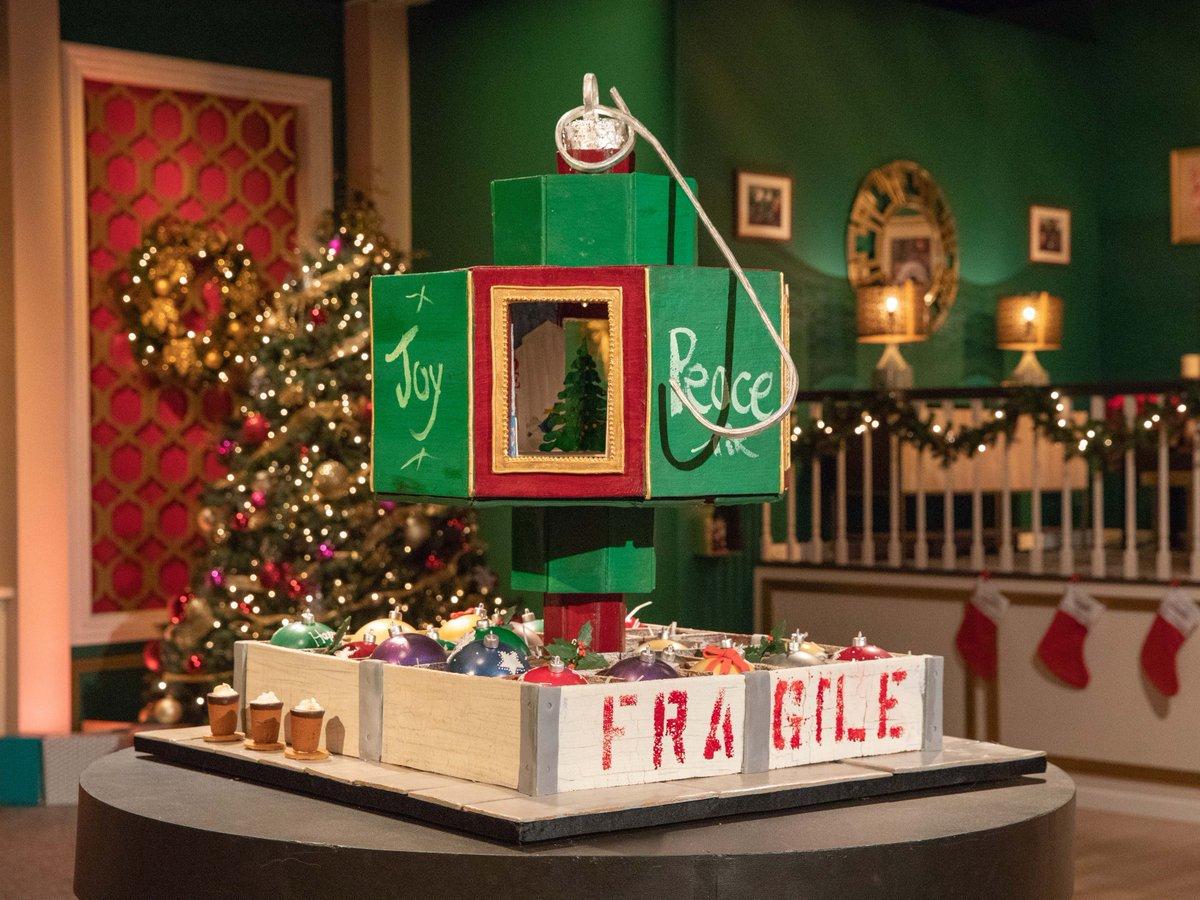 Holiday Gingerbread Showdown Beatrice Winner 2020 Christmas Tree Van Earl's Cakes (@CakesVan) | Twitter
